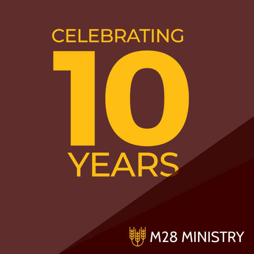 Celebrate 10 Years with M28